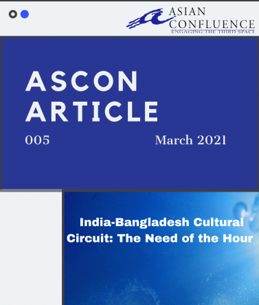 India-Bangladesh Cultural Circuit: The Need of the Hour