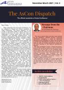 The AsCon Dispatch|November-March 2021 | Vol. 3