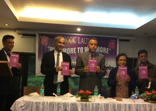 Book launch by Deep Kumar Biswa