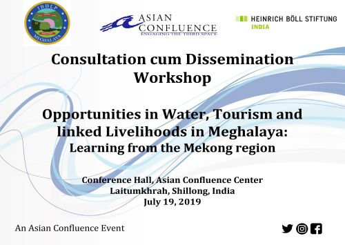 Opportunities in Water, Tourism,  and linked Livelihoods in Meghalaya