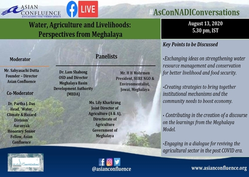 Water, Agriculture and Livelihoods: Perspectives from Meghalaya