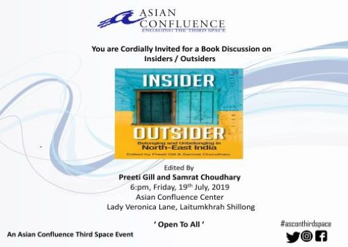 Book Discussion on Insider Outsider North East India