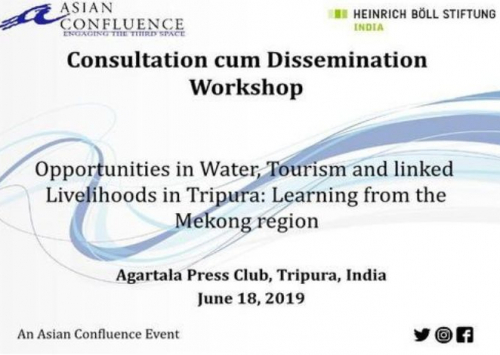 Opportunities in Water, Tourism and linked Livelihoods in Tripura