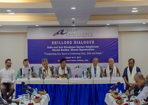 "India and Sub Himalayan Eastern Neighbours: Shared Borders, Shared opportunities: ""Transforming Geo Spaces to Celebrating Ideas, Skills, and People."""