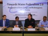 Inaugural Session: (R - L) Mr. Sabyasachi Dutta, HE Mr. Mr Walter J. Lindner, Shri. U.P. Singh and Mr. Volker Lennart Plän