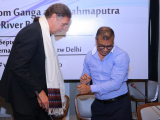 HE Mr. Mr Walter J. Lindner, greeted by Mr. Sabyasachi Dutta