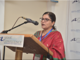 Ms. Nandita Baruah, Country Head, India, The Asia Foundation gives the opening remarks