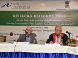 (R-L): Mr. River Wallang, IFS Retd. and Dr. Enamul Haque, Professor, East-West University, Dhaka, Bangladesh as Chair and Moderator for Policy Session 2: Tourism