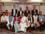Team Asian Confluence and Team British Deputy High Commission, Kolkata assemble for a group photo